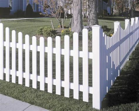 vinyl fence sections yorkshire vinyl picket fence concave avinylfence com