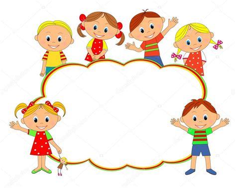 cornice bambini cornice di bambini bambini ragazzi e ragazze che