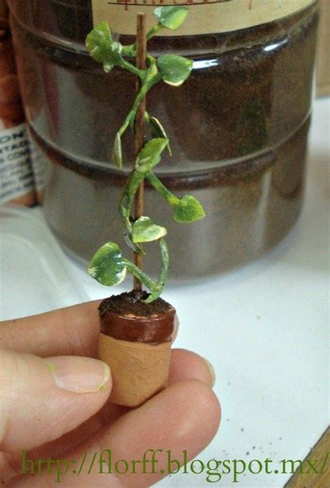 printable leaves for miniature plants 7650 best miniaturas de jard 237 n miniature garden images