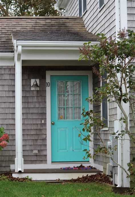 front door colors for gray house seaside cottage trends and traditions