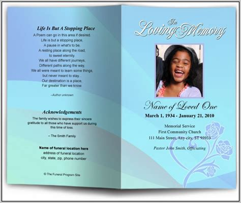 Funeral Program Template Google Docs Template Resume Exles Agdre17knl Program Template Docs