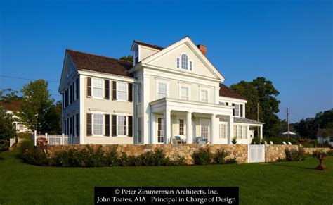 greek revival home traditional exterior new york new new greek revival house southport ct traditional