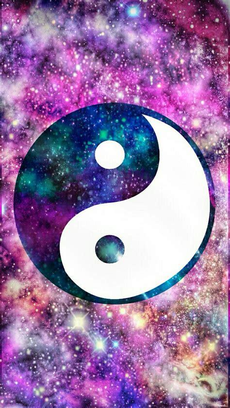 wallpaper yang cute ying yang galaxy wallpaper cocoppa by jay we heart it