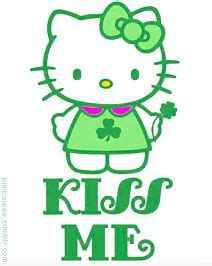 hello kitty wallpaper st patricks day download hello kitty st patricks day wallpaper gallery