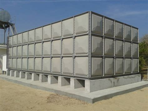 Panel Water Tank grp frp sectional water tanks pipeco