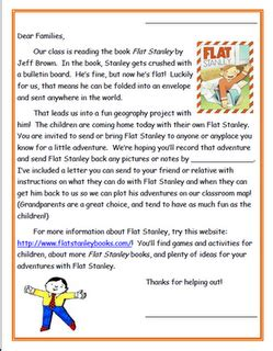 Writes A Rambling Letter To The World 2 2 by Flat Stanley On Reading Fair Teaching Map
