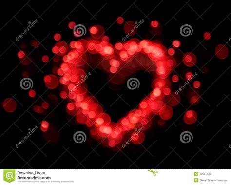 printable bokeh shapes red bokeh heart shape stock photos image 12691423