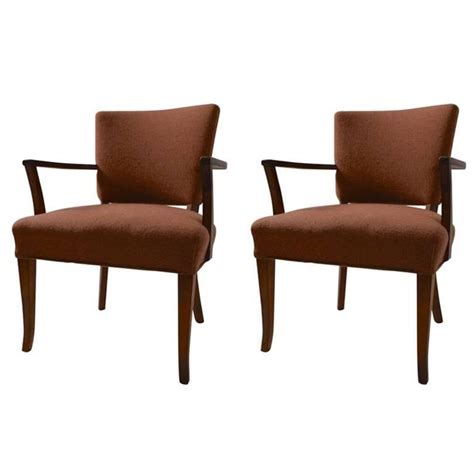 Stylish Armchairs Stylish Pair Of Armchairs For Sale At 1stdibs