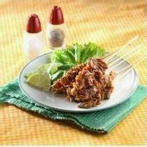 membuat resep sate bacem usus ayam resep masakan