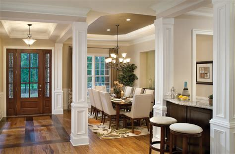 foyer open to dining room woodcliff 1173 traditional dining room ta by