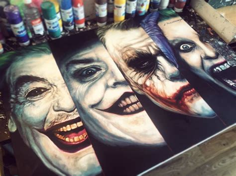 Four Of A Joker 1 jokers by ben jeffery sci fi design