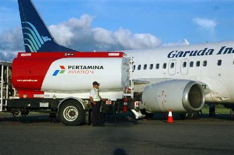 Minyak Avtur bahan bakar penerbangan bahasa indonesia