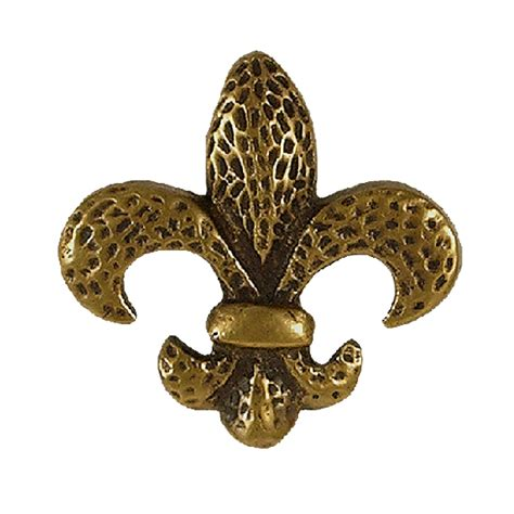 Fleur De Lis Knobs by Kitchenknobs Waterwood Knobs And Pulls Fleur De Lis Knob