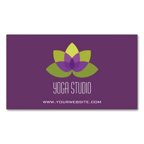 business card templates for yoga 17 best images about yoga business cards on pinterest