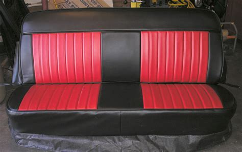Seat Upholstery by Plain Johnny Chevy Truck Bench Seat Covers