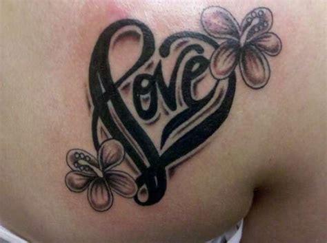 Tattoo Love Flower | image gallery love flower tattoos