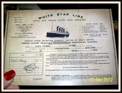 printable titanic boarding pass template titanic boarding pass images