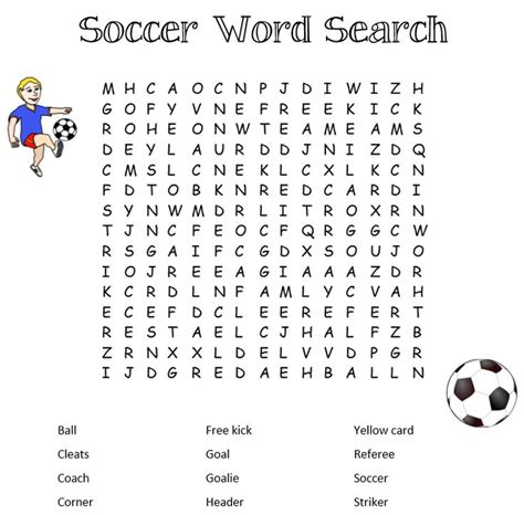 printable word search soccer soccer word search in light of the soccer world cup