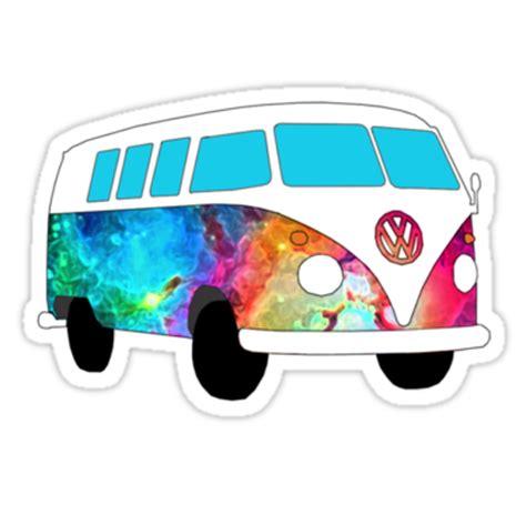 volkswagen van transparent image gallery hippie van stickers