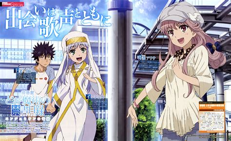 A Certain Magical Index The Miracle Of Endymion Imoto Yuki Zerochan Anime Image Board