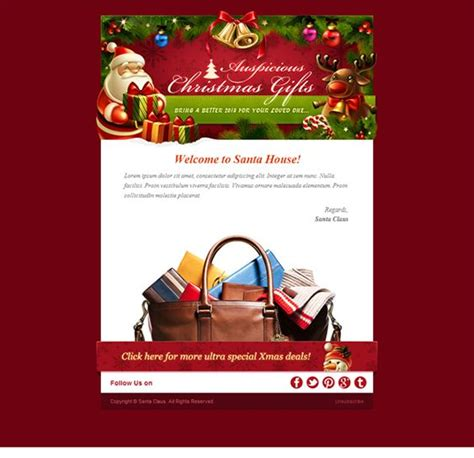 christmas newsletter templates for pages 9 best more christmas holiday landing page email