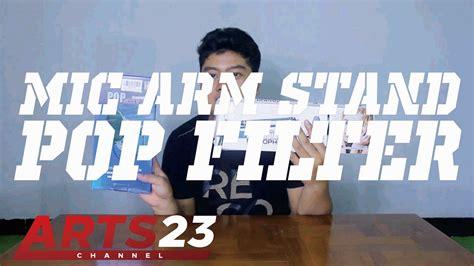 Murah Stand Mic Besi unboxing mic arm stand pop filter murah indonesia