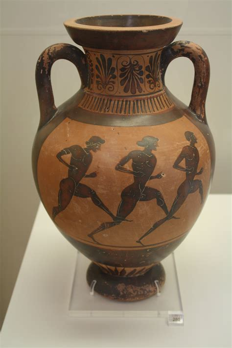 Ancient Vases Facts by Foot Race Illustration Ancient History Encyclopedia