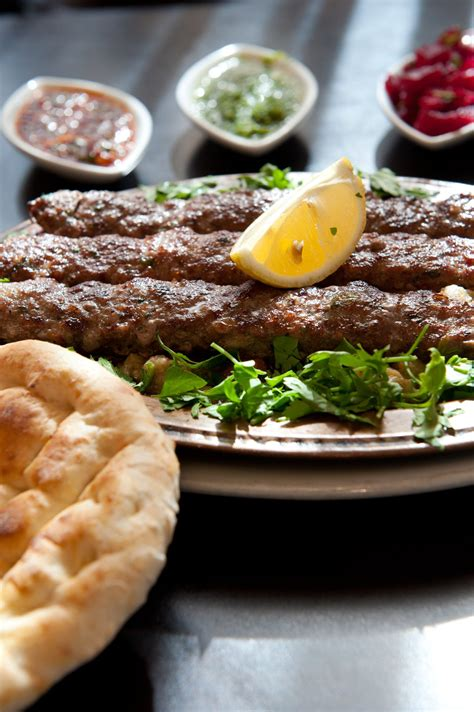 Turki Pita lahmajoun turkish food in a pita or lafa