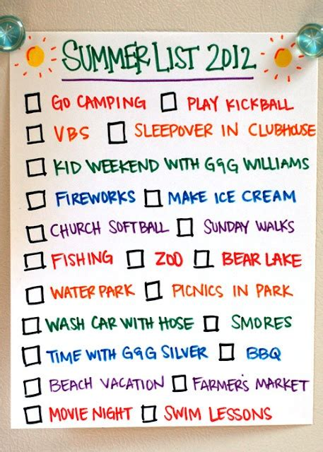Checklist Of Things You Need For A Picnic by 17 Best Ideas About Summer Checklist On Summer