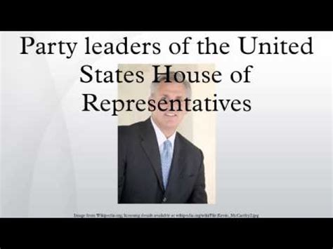 house of representatives leader party whips of the united states house of representatives