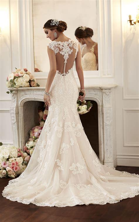 vintage inspired wedding dresses with straps stella york