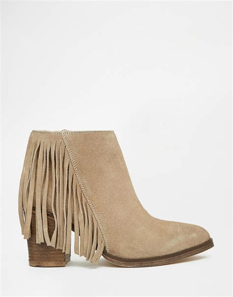 ankle boots with fringe fringe boots for 28 images shop s minnetonka taupe 3