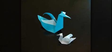 Make A Swan Out Of Paper - how to make a beautiful origami paper swan 171 origami