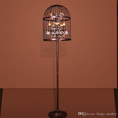 Birdcage Floor L by American Style Rural Rh Iron Retro Birdcage Floor L Lights And Ls