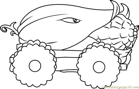printable coloring pages plants vs zombies cob cannon coloring page free plants vs zombies