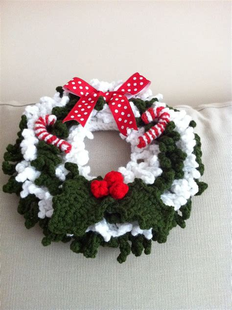 crochet pattern for xmas wreath handmade with love by g crochet christmas wreath 2011
