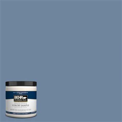 behr premium plus 8 oz s520 5 thundercloud interior exterior paint sle pp10416 the home depot