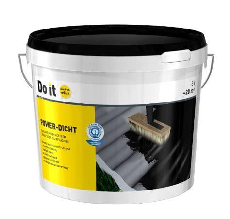 Bitumen Zum Streichen 41 by Do It Power Dicht 8 L 82451900226608