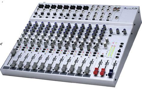 Mixer Alto L20 alto professional legacy mixers series gt s 16
