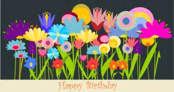 birthday card paintings free printable happy birthday card with field of