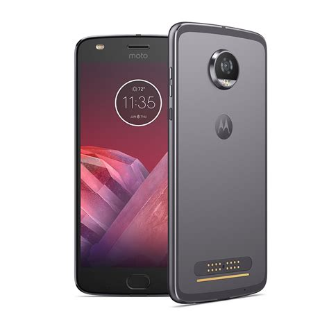 Motorola Moto Z2 Play 4 64gb Gold moto z2 play moto mod 64gb 4 ram 12 5mp 5 5 hd