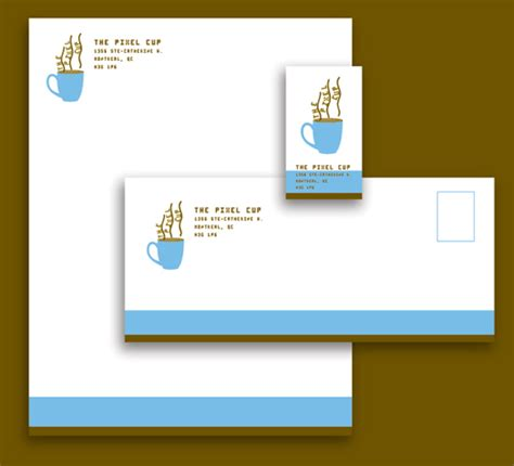 business card letterhead inspiration v