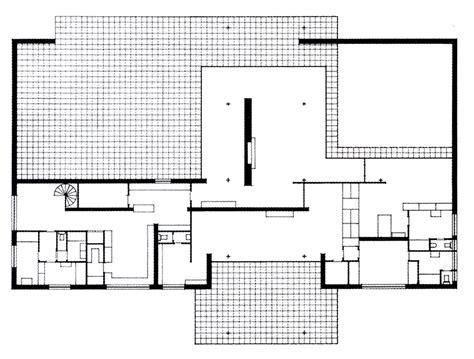 mies van der rohe floor plan casa hubbe mies van der rohe buscar con google arch