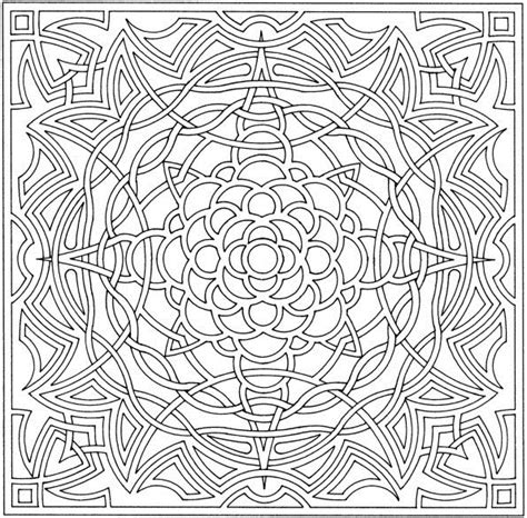 Free Printable Abstract Coloring Pages For Kids Complex Coloring Pages