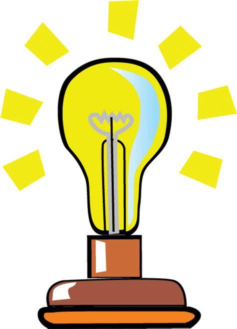 Animated Lighted Bulb Animation Light Bulb Animation Animated Lights Clipart