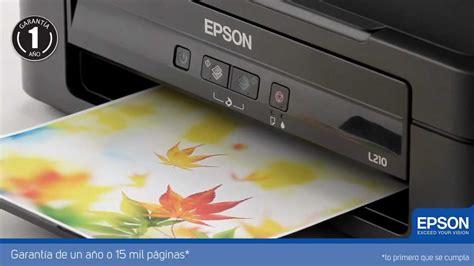 reset impresora epson l210 gratis impresora multifuncional epson l210 con tanque de tinta