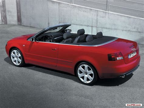 convertible audi red audi a4 2004 custom image 356