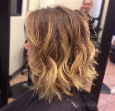 Haircuts Denver Colorado | hair by natalia balayage highlights on bob haircut