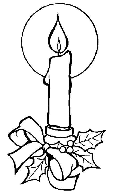 disegni candele candele 2 disegni per bambini da colorare