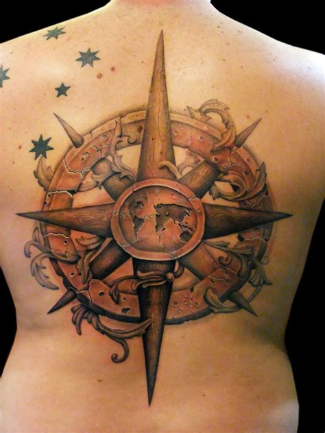 ancient tattoo design 30 stunning compass designs entertainmentmesh